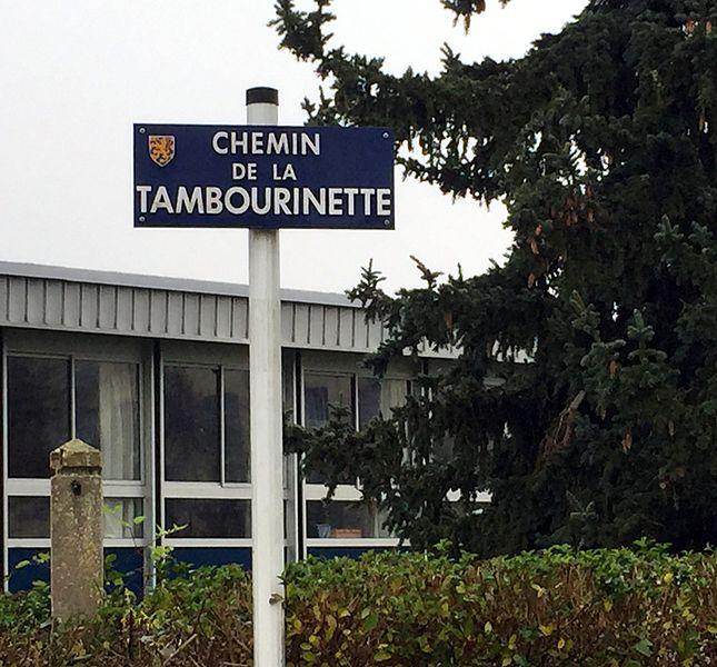 Chemin de la Tambourinette.