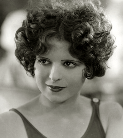 "Clara Bow, American actress known as ""The ""'It' Girl""."