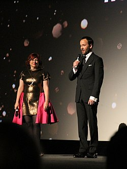 Clare Stewart and Tom Ford (30029378810).jpg