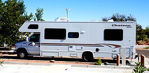 Recreational vehicle - Chateau Sport Class-C motorhome