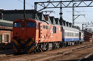 South African Class 6E1, Series 4 - World speed record holder no. E1525