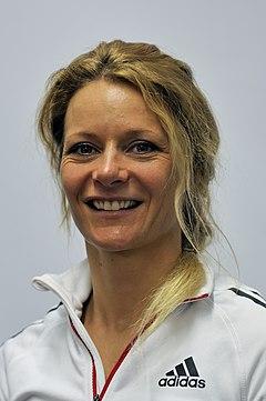 Claudia Nystad bei der Olympia-Einkleidung Erding 2014 (Martin Rulsch) 09