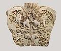 Cloisonné furniture plaque with two griffins in a floral landscape MET DP110673.jpg