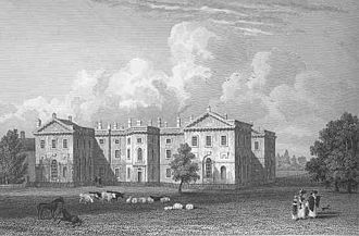 Earl of Lincoln - Clumber Park in 1829