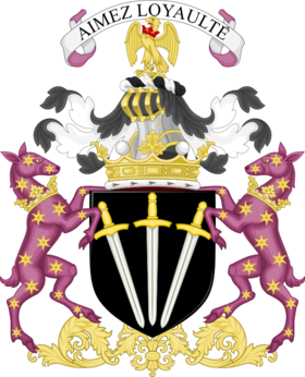 Coat of arms of the marquess of Winchester - Premier marquess of England.png