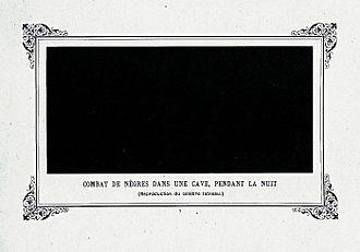Album primo-avrilesque - Image: Combat de nègres dans une cave