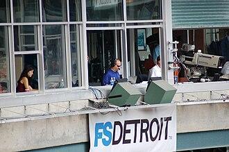 Mario Impemba - Mario Impemba, left, alongside partner Rod Allen on a Tigers broadcast in 2012