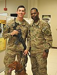 Command Sgt. Maj. Bell recognizes Maj. Eden and Spc. Litton 140929-A-NY241-232.jpg