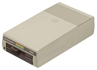 """Commodore 1541 5¼"""" single-sided floppy disk drive for the C64"""