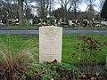 Commonwealth War Grave in Jarrow Cemetery (WW2-08) - geograph.org.uk - 1604682.jpg