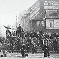 Commune de Paris barricade de la Chaussée Ménilmontant.jpg