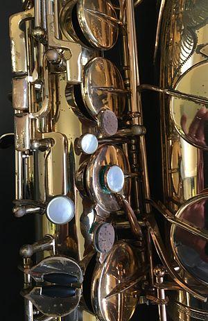 Selmer Mark VI - Image: Concert model Selmer Mark VI