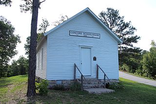 Concord School House (Arkansas) United States historic place