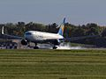 Condor B767-300 landing on runway 06L - panoramio.jpg