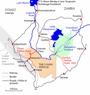 Congo Pedicle road Wikipedia