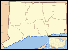 Ridgefield, Connecticut is located in Connecticut
