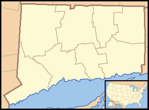 Litchfield (borough), Connecticut - Image: Connecticut Locator Map with US