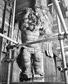 consolebeeld tegen de noord-west vieringpijler - amsterdam - 20012765 - rce