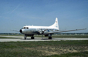 1960 Munich C-131 crash - A C-131D similar to the accident aircraft