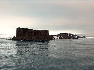Fort William (Robert Island) headland on Robert Island, South Shetland Islands, Antarctica