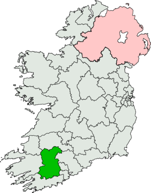 Cork North-West (Dáil Éireann constituency) - Image: Cork North West (Dáil Éireann constituency)