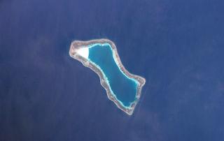 reef in the Spratly Islands