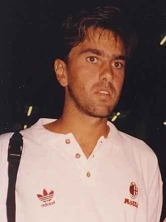 Alessandro Costacurta - Costacurta in 1992.