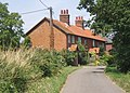 Cottages at the end of the lane north from Hemley - geograph.org.uk - 894313.jpg