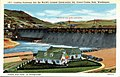 Coulee Dam WA - Looking Upstream into the World's Largest Construction Job, Grand Coulee Dam (NBY 431522).jpg