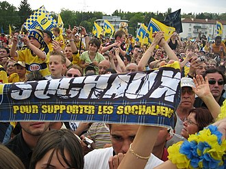 2007 Coupe de France Final - Image: Coupe de France 2007 10