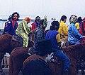 Courir de Mardi Gras, Mamou masked riders.jpg