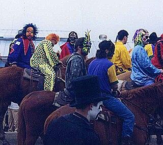 Courir de Mardi Gras Cajun Mardi Gras celebration