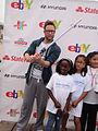 Course of the Force 2012 - Michael Rosenbaum and the Make A Wish kids (14134855086).jpg