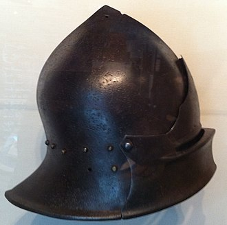 "Sallet - Sallet in the ""English-Burgundian"" style, in many ways intermediate between the Italian and German forms"