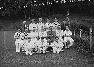 Cricket team, Radnorshire
