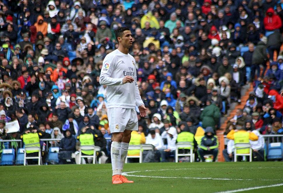 Cristiano Ronaldo ante el Celta de Vigo