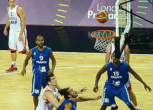 London International Basketball Invitational - Croatia vs France during the London International Basketball Invitational