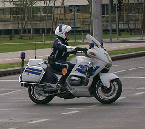 Law enforcement in Croatia - Image: Croatian police motorcycle (3)