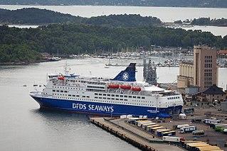 MS <i>Crown Seaways</i> Norwegian ship