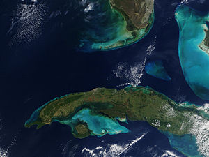 Straits of Florida - Florida Straits from Space