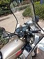 Cuerpo Nacional de Policía (España), motocicleta Sanglas 400, Policía Armada, DGP-Y4244 (44035820695).jpg