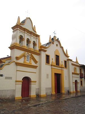 Bojacá - Image: Cundinamarca Iglesia de Bojacá