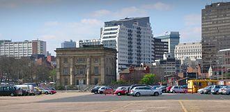 Birmingham Curzon Street railway station - Image: Curzon Street Station rear
