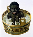 Cut-out advert for 'Dingman's eletric soap' Wellcome L0030370.jpg