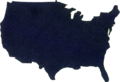 Cutout Paper Map of United States.png