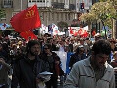 Día do traballo. Santiago de Compostela 2009 35.jpg
