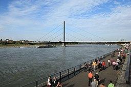 Rheinwerft in Düsseldorf