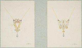 Design drawing fort wo pendants