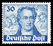 DBPB 1949 63 Johann Wolfgang von Goethe