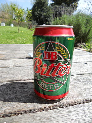 DB Breweries - A 330mL can of DB Bitter beer can